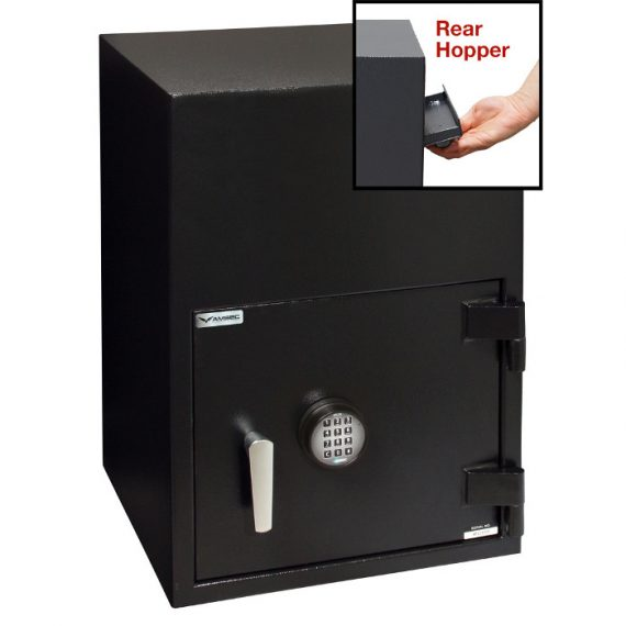 American Security BWB2020FLRNL Safe- Reverse Front Loading Large Door Drop Safe – No Internal Locker