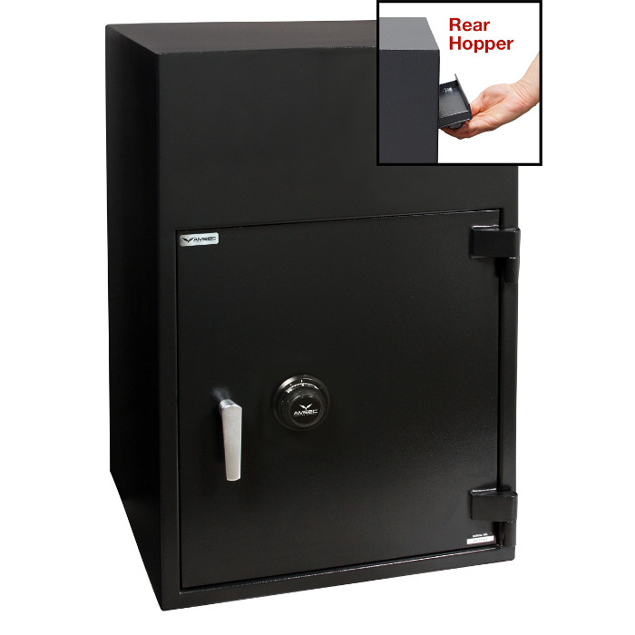 American Security BWB3025FLR Safe- Reverse Front Loading Large Door Drop Safe