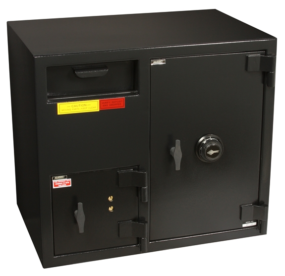 "American Security DSF2731KC - ""B"" Rated Front Load Depository Drop Safe With Dual Key Entry Depository and Large Combination Side Safe"