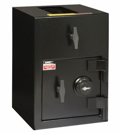 "American Security DST2014C - ""B"" Rated Rotary Top Load Combination Depository Safe"