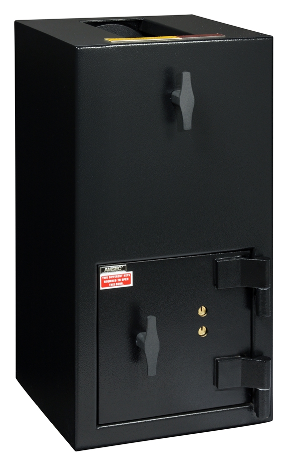 "American Security DST2714K - ""B"" Rated Rotary Hopper Drop Safe With Key Entry"