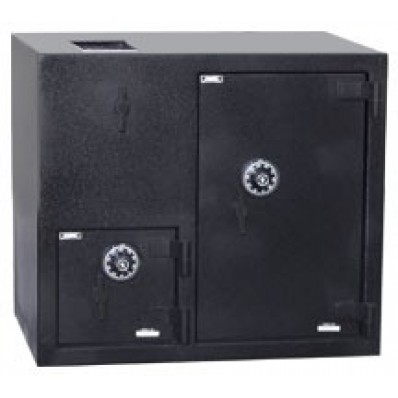 "American Security DST2731CC - ""B"" Rated Top Load Rotary Depository Drop Safe With Combination Entry Depository and Large Side Safe"