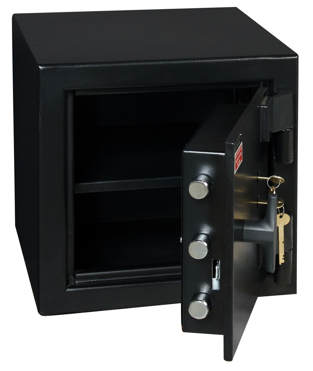 American Security MS1414K Dual Key Lock B-Rate Security Safe - 1.2 cu. ft.