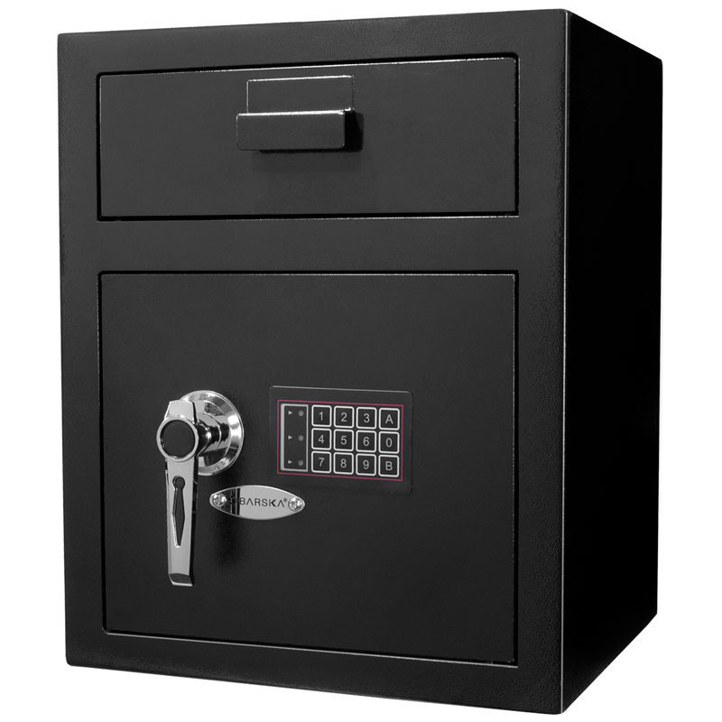 Barska AX11930 Large Keypad Depository Safe