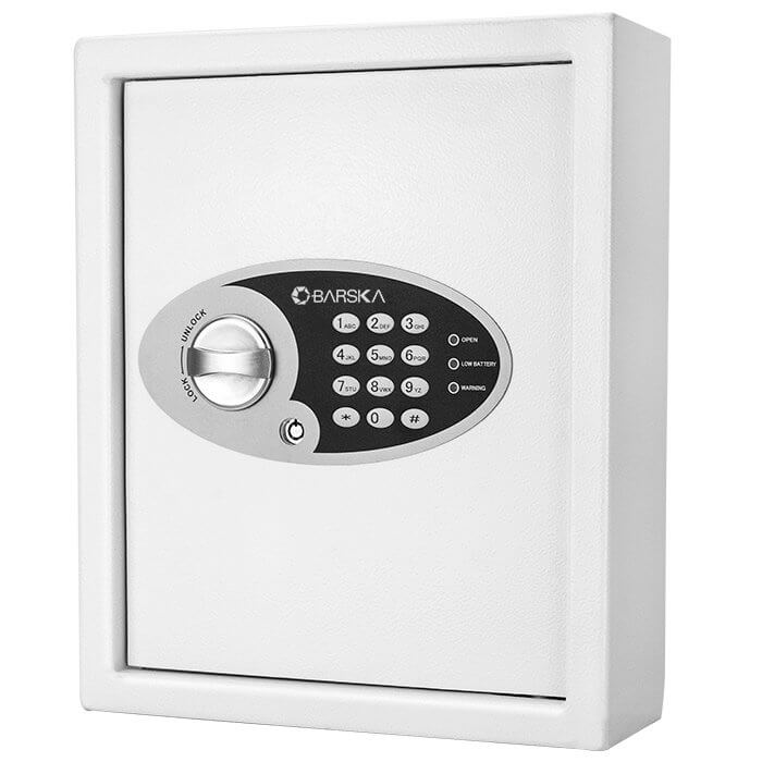 Barska AX12658 Key Cabinet Digital Wall Safe