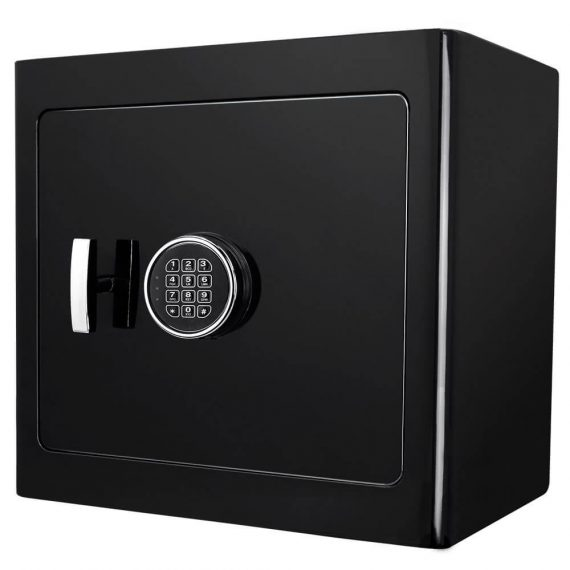 Barska AX13036 Black Jewelry Safe – Light Interior