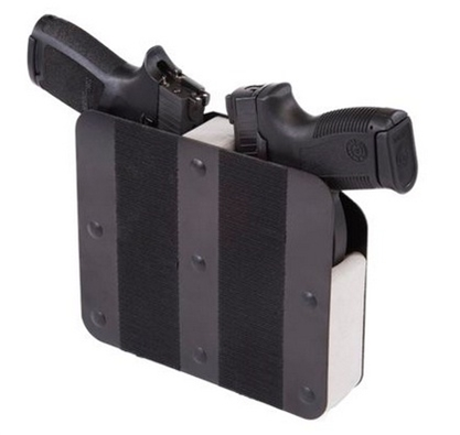 Benchmaster - Double Gun Weapon Rack - Velcro