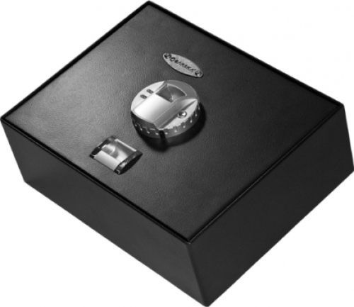 Biometric-Safe-Fingerprint-Barska-Top-Opening-Lock-New-Gun-Security-Wall-black-0