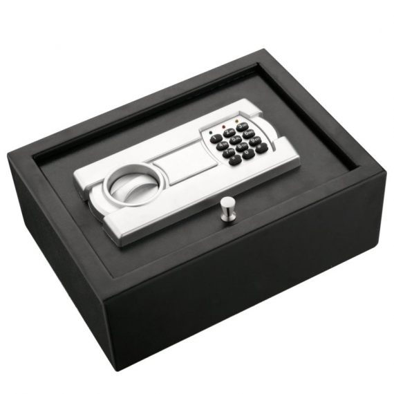Digital-Combination-Safety-Deposit-Box-Fireproof-Safe-Cash-Lock-Small-Drawer-Gun-0