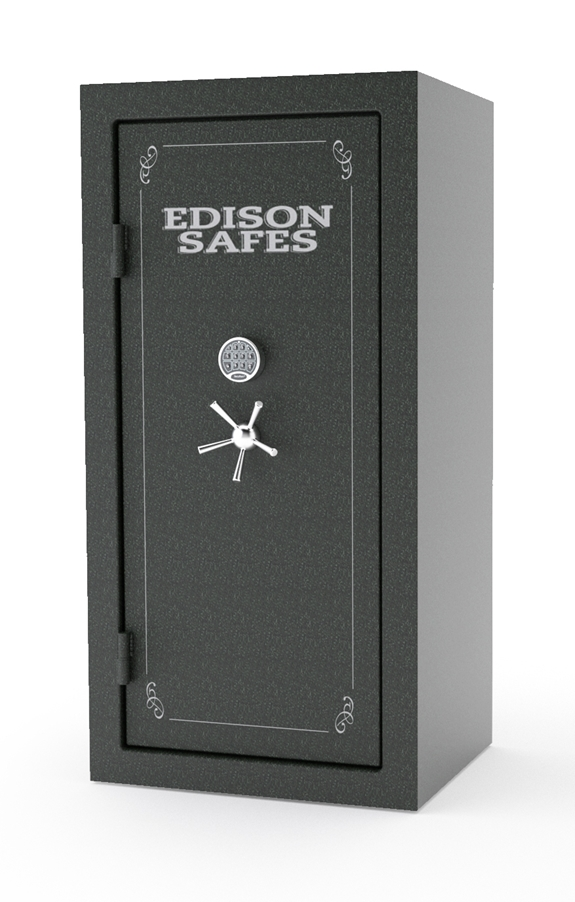 Edison Safes E7236 Elias Series 30-120 Minute Fire Rating - 56 Gun Safe