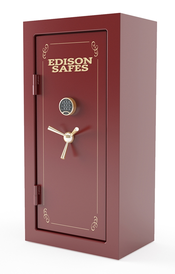 Edison Safes F603024 Foraker Series 30-120 Minute Fire Rating - 33 Gun Safe