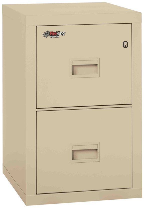 Fire King 2R1822-C - Turtle Fireproof File Cabinets - 2 Drawer 1 Hour Fire Rating