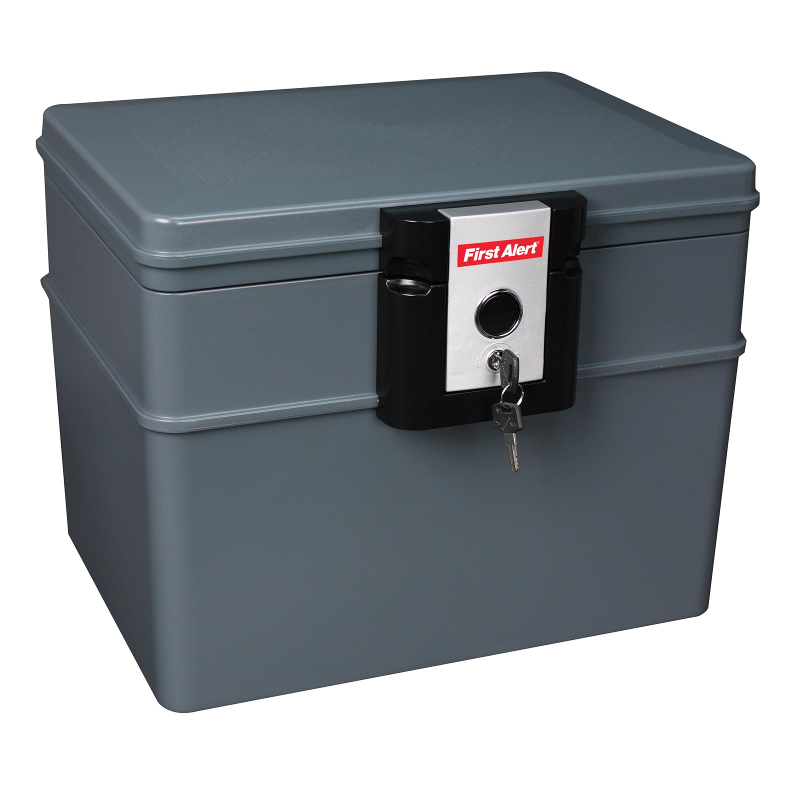First Alert 2037F Chest Fire/Water Chest w/ Key Lock - .62 Cubic Ft