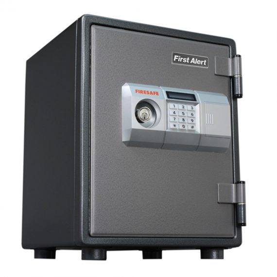 First Alert 2054DF 1 Hour Steel Fire Safe with Electronic Lock – 0.80 Cubic Ft