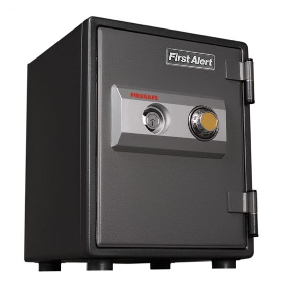First Alert 2054F Safe 1 Hour Steel Fire Safe with Combination Lock – 0.80 Cubic Ft