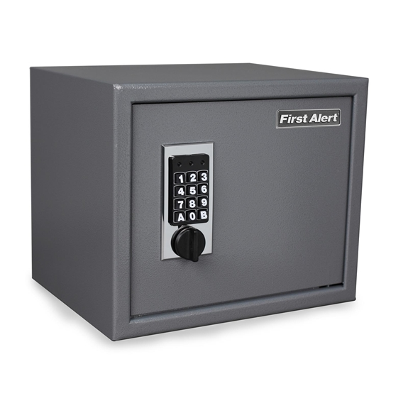 First Alert 2072F Safe Anti-Theft Shelf Safe with Digital Lock - 1.00 Cubic Ft