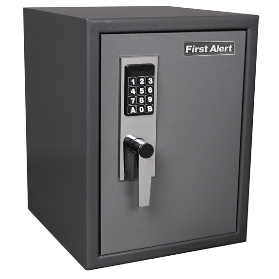 First Alert 2077DF Safes/ Anti-Theft Safe - 1.21 Cubic Ft