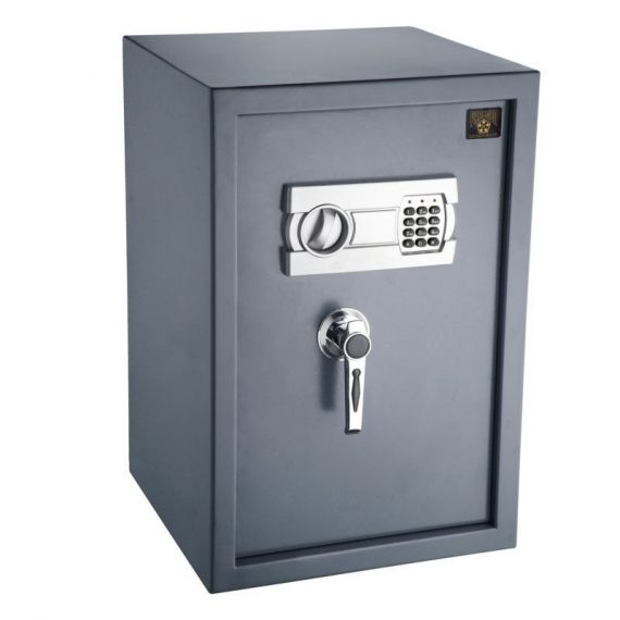 Genuine-Large-Fire-Safe-Electronic-Lock-Box-Security-Steel-Home-Office-Security-0