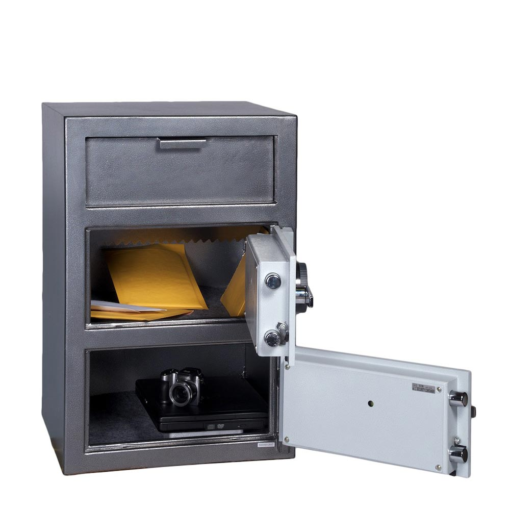 Hollon FDD-3020C 3.60 cu. ft. Deposit Safe w/ 2 Doors