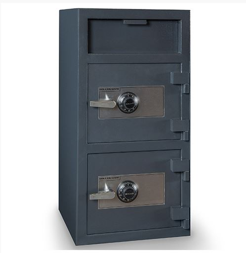 Hollon FDD-4020 Double Door Deposit Safe