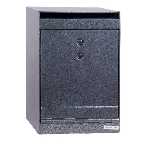 Hollon HDS-03K Deposit Safe w/ Key Lock