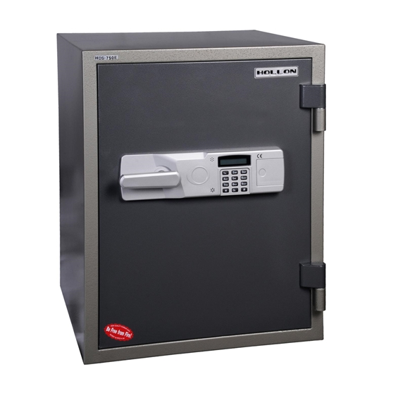 Hollon HDS-750E 1 Hr. Fireproof Data Safe - 1.02 cu. ft.