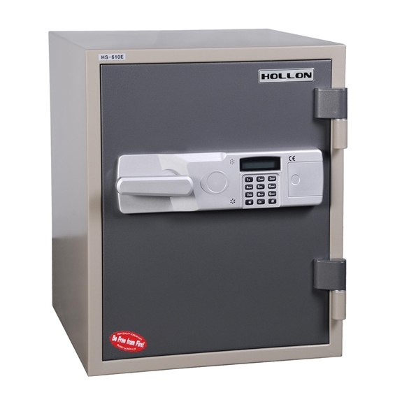 Hollon HS-610E 2 Hr. Fireproof Office Safe - 1.5 cu. ft.