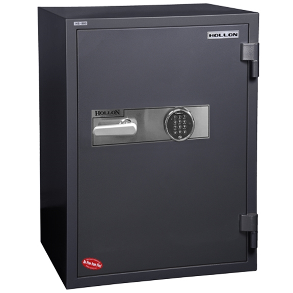 Hollon HS-880E 2 Hr. Fireproof Office Safe - 3.61 cu. ft.