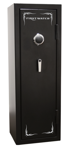 Homak Security - BH50126080 - 8 Gun Black Hills Safe - 1400°/30 Minutes