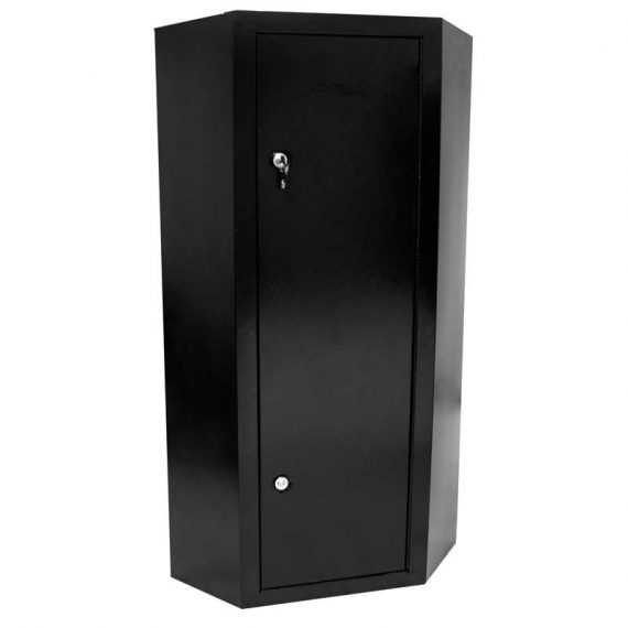 Homak Security – HS30136010 – 10 Gun Steel Corner Cabinet