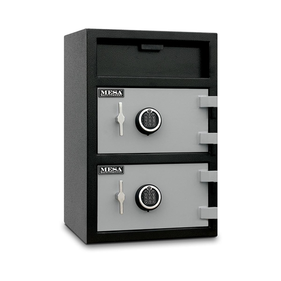 Mesa Safes MFL3020 Safe - Depository Safe w/ Double Doors - 1.6 & 2.0 Cubic Feet