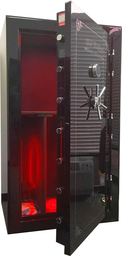 Old Glory Tactical Gun Safe - SD7242 - SUPER-DUTY 45 Gun Capacity - 2 Hour Rating