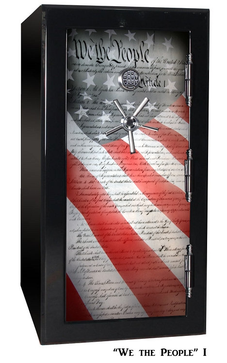 Old Glory Tactical Gun Safe - We The People 1 - 24 Gun Capacity - 2 Hour Rating