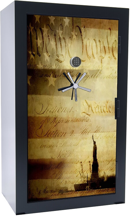 Old Glory Tactical Gun Safe - We The People - 39 Gun Capacity - 2 Hour Rating