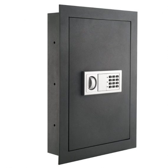 Paragon-7725-Flat-Superior-Electronic-Hidden-Wall-Safe-for-Large-Jewelry-or-Smal-0