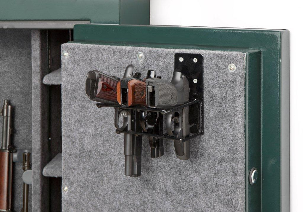Rack'em - 6020 - Universal - 3 Pistol Gun Cabinet Holster - Mount Anywhere