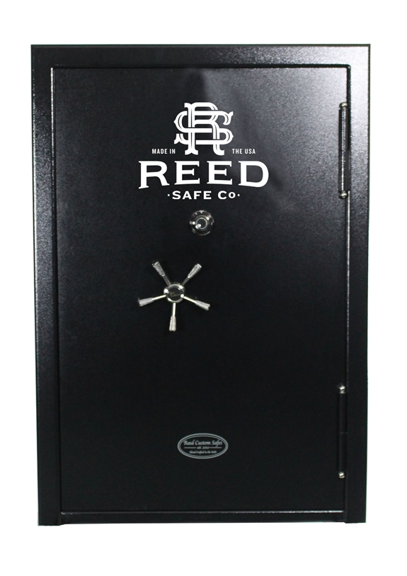 Reed Custom - Model 5072 SS Safe - SS7 Collection - 50 Gun 90 Minute Fire Rating - 7 Gauge 409 Stainless Steel