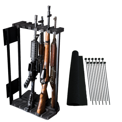 "Rhino Swing Out Rack 13 Gun Fits Safes 36""W or Wider"