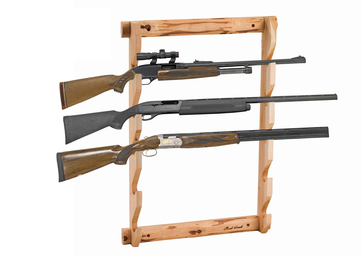 Rush Creek 37-0036 5-Gun Wall Rack