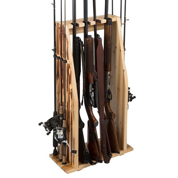 Rush Creek 4 Gun, 8 Rod Wall Rack