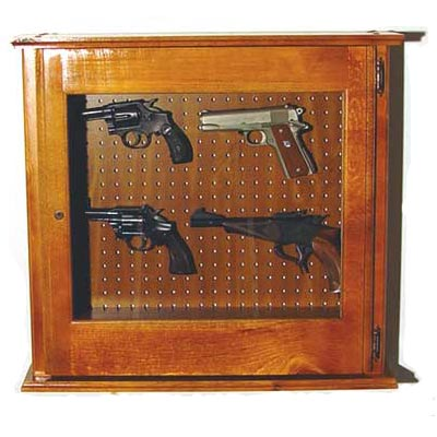 Scout 620 Pistol Cabinet – Solid Pine