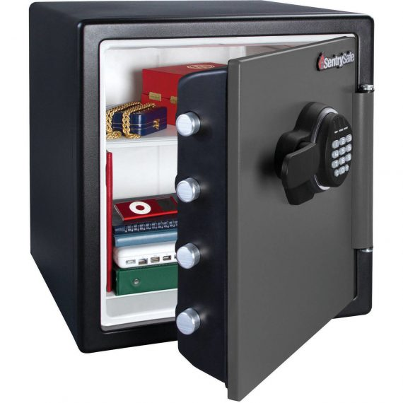 Security-Electronic-Fire-Sentry-Safe-Lock-Durable-Storage-Valuables-12-cu-ft-0