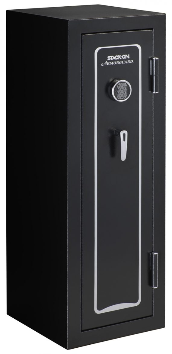 Stack-On Armorguard 18 Gun Safe – Electronic Lock