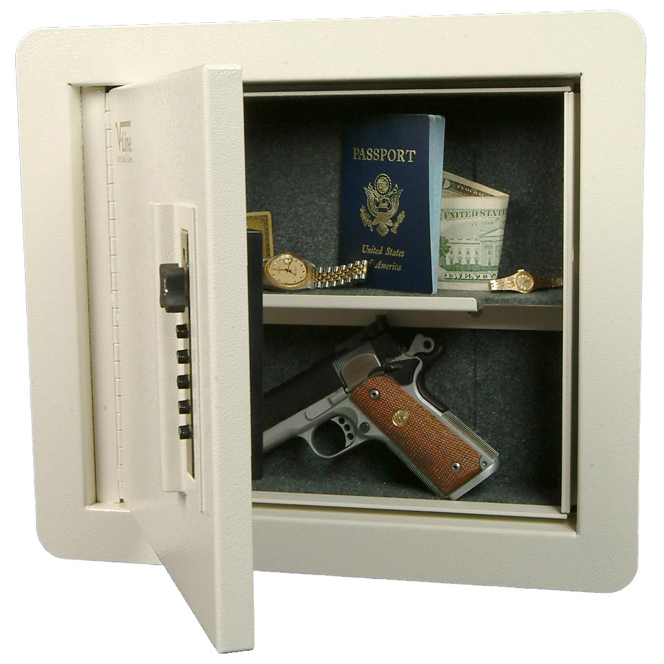 V-Line Quick Vault-In Wall Handgun Safe