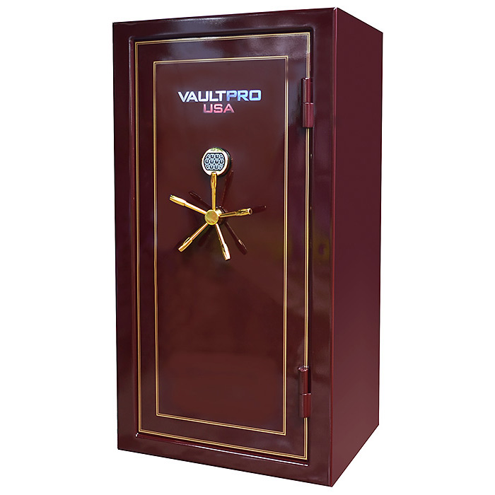 Vault Pro Golden Eagle Series - Tall 28 Gun Safe