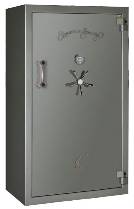 "American Security - BFII7240 UL RSC-II with TL-15 Boltwork, 5/16"" Inner Steel Liner and 1/2"" Door - 42 Gun Capacity - 120 Min / 1200°"