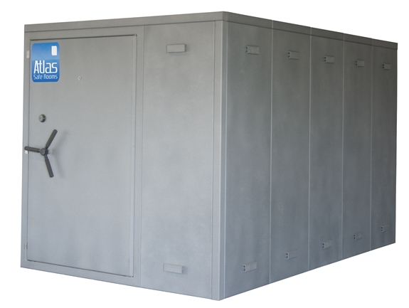 """Atlas Safe Rooms - Alternate Series - 16 Person Safe Room - 6' 5"""" by 10' 5"""""""