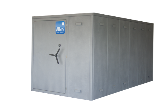 """Atlas Safe Rooms - Alternate Series - 24 Person Safe Room - 6' 5"""" by 12' 5"""""""
