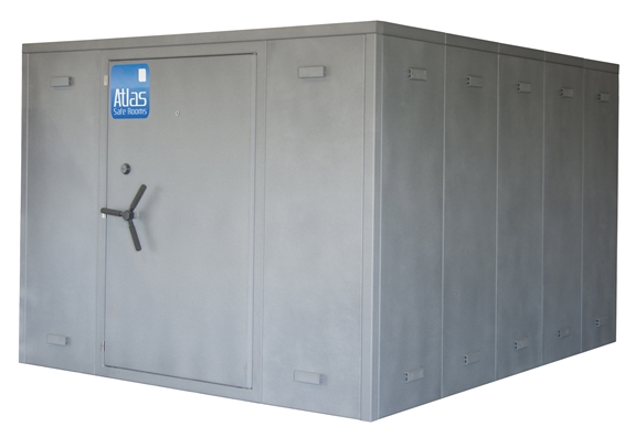"Atlas Safe Rooms - Alternate Series - 24 Person Safe Room - 8' 5"" by 10' 5"""
