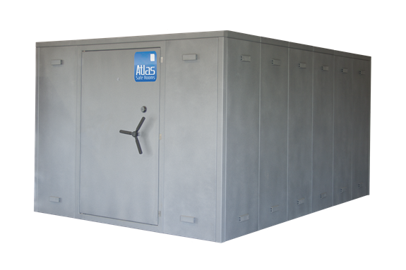 """Atlas Safe Rooms - Alternate Series - 32 Person Safe Room - 8' 5"""" by 12' 5"""""""